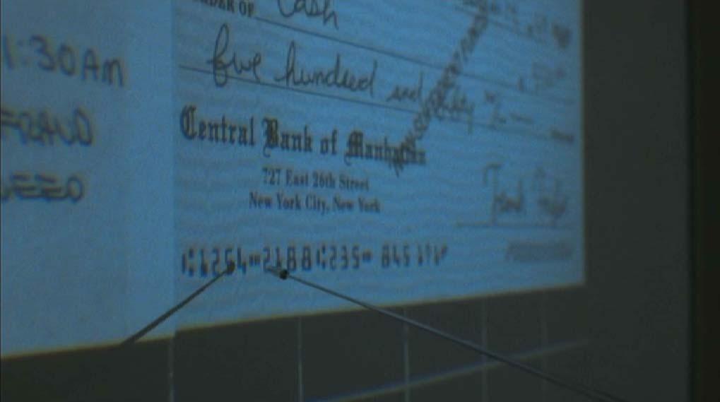 bank check 24
