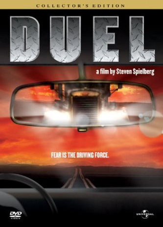 DVD cover of the Steven Spielberg (TV) movie 'Duel'