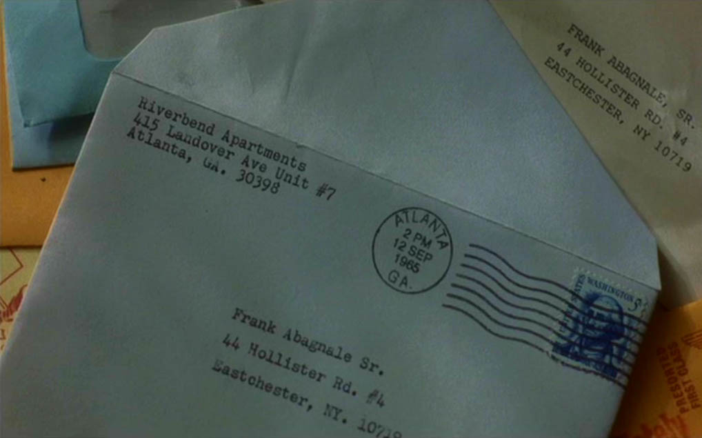 Typewritten letters of Frank Abagnale