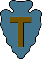 Seal of the 36th Infantry Division (United States/Texas)