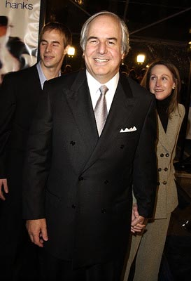 Frank Abagnale with family at the premiere of 'Catch Me If You Can'