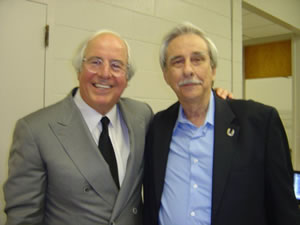 Pilot Paul J. Holsen II and Frank Abagnale