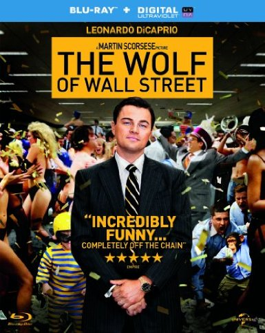 DVD cover of 'The Wolf of Wall Street'