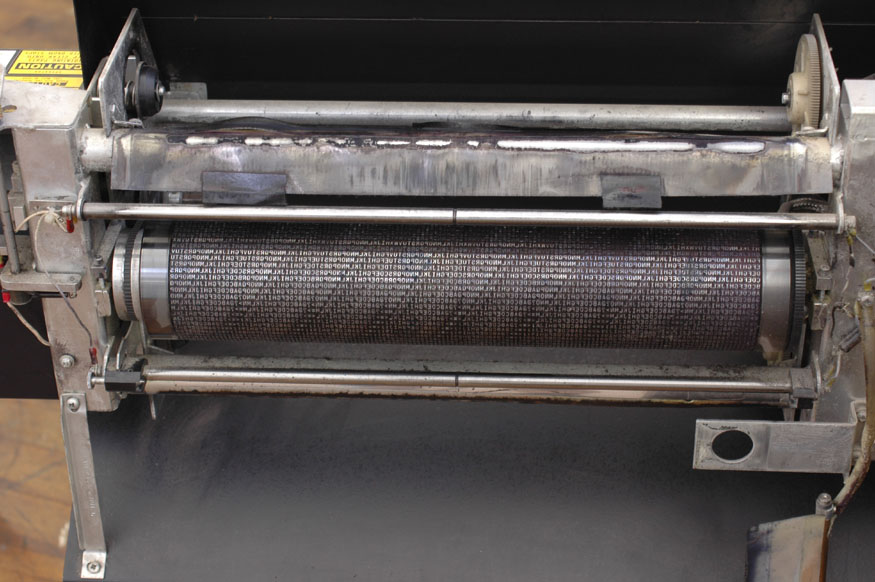 Print engine of a line printer
