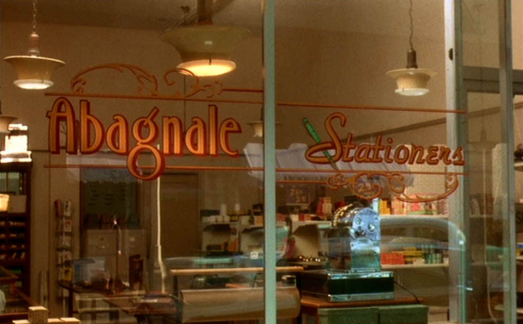 Stationery store of Frank Abagnale Sr.