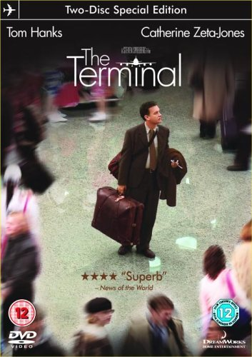 DVD cover of the Steven Spielberg movie 'The Terminal'